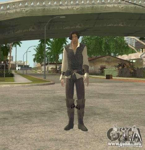 Assassins skins para GTA San Andreas segunda pantalla