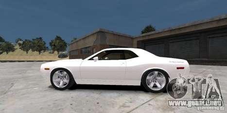 Dodge Challenger 2006 para GTA 4 Vista posterior izquierda