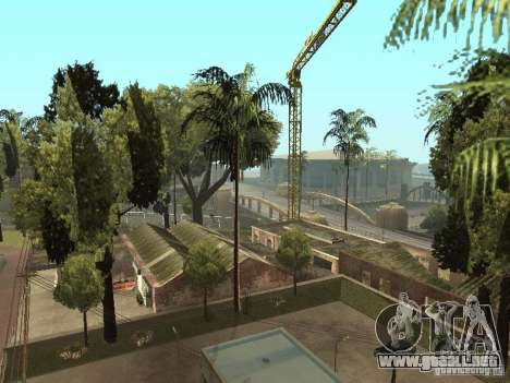 Servicio de coche aproximadamente surco v1.5 para GTA San Andreas sucesivamente de pantalla