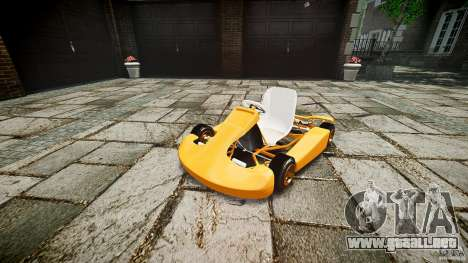 Karting para GTA 4 visión correcta