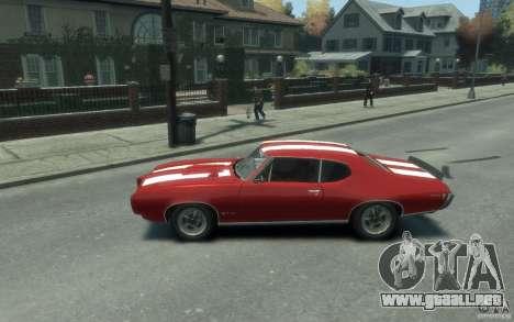 Pontiac GTO Hardtop 1968 v1 para GTA 4 left