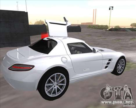 Mercedes-Benz SLS AMG para GTA San Andreas left