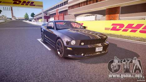 Saleen S281 Extreme Unmarked Police Car - v1.1 para GTA 4 vista interior