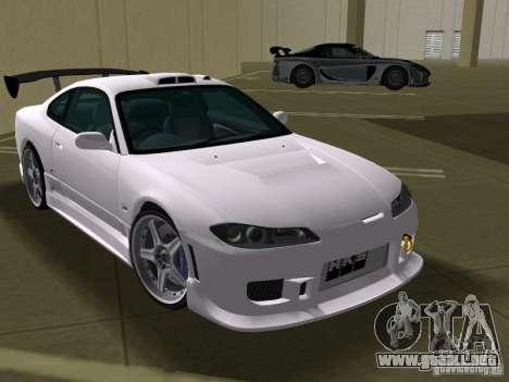 Nissan Silvia spec R Tuned para GTA Vice City vista posterior