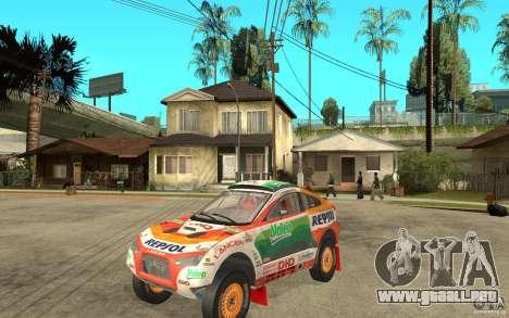 Mitsubishi Racing Lancer para GTA San Andreas