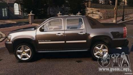 Chevrolet Avalanche Stock [Beta] para GTA 4 left