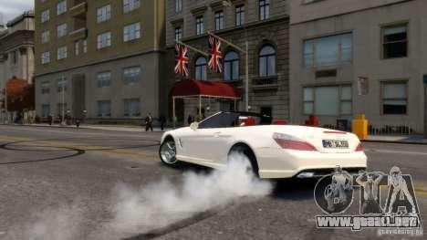 Mercedes-Benz SL 350 2013 v1.0 para GTA 4 vista hacia atrás
