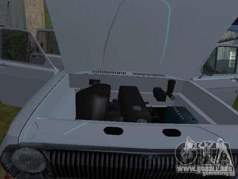 GAZ 24-02 para GTA San Andreas vista hacia atrás