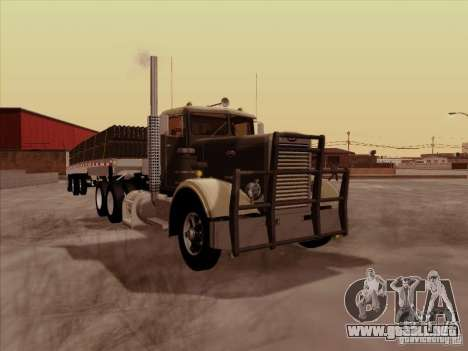 Peterbilt 351 para GTA San Andreas left