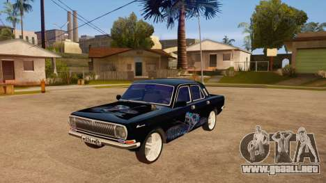 Volga GAZ 24 para GTA San Andreas