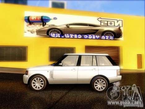 Land-Rover Range Rover Supercharged Series III para GTA San Andreas left