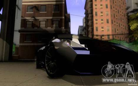 Lamborghini Gallardo Superleggera para vista lateral GTA San Andreas