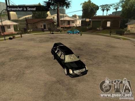 Cadillac DTS 2008 para la visión correcta GTA San Andreas
