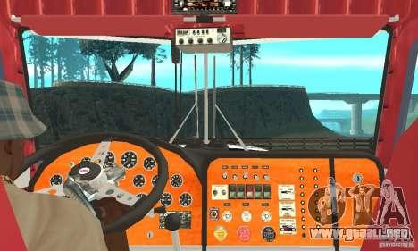 Peterbilt 359 para la visión correcta GTA San Andreas