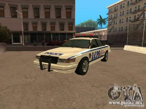 La policía de GTA4 para GTA San Andreas