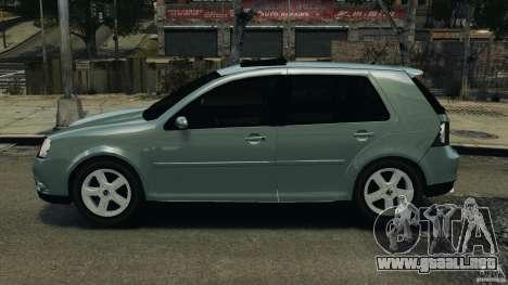 Volkswagen Golf Sportline 2011 para GTA 4 left