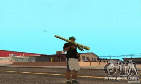WEAPON BY SWORD para GTA San Andreas séptima pantalla