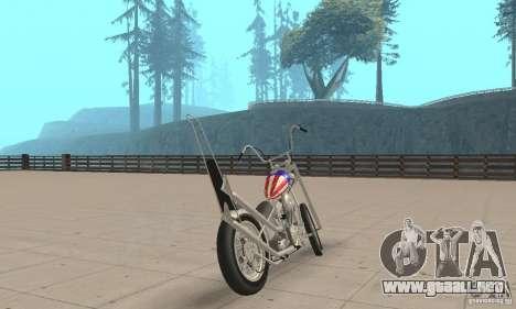 Captain America Chopper para GTA San Andreas left