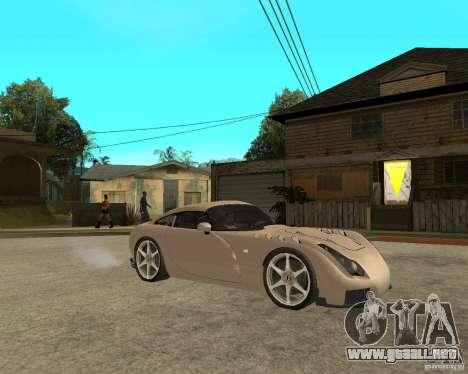 TVR Sagaris para la visión correcta GTA San Andreas