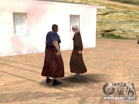 Renovación de la aldea Al-Kebrados v1.0 para GTA San Andreas sucesivamente de pantalla