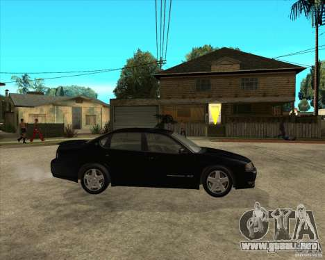 2003 Chevrolet Impala SS para la visión correcta GTA San Andreas