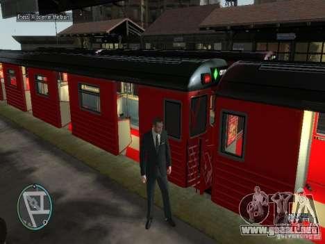 Redbird tren v1.0 para GTA 4 segundos de pantalla