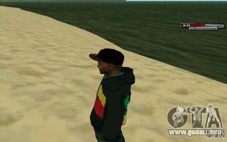 Drug Dealer HD Skin para GTA San Andreas segunda pantalla