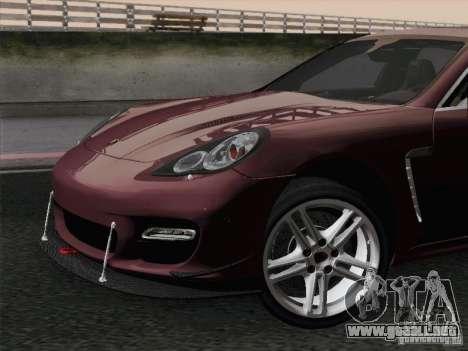 Porsche Panamera Turbo 2010 para el motor de GTA San Andreas
