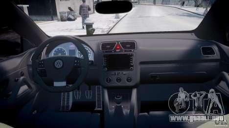 Volkswagen Scirocco III 2008 para GTA 4 visión correcta