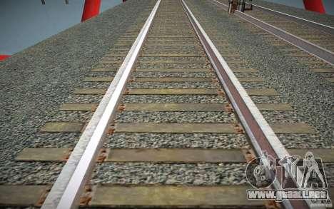 Pistas de HD para GTA San Andreas tercera pantalla