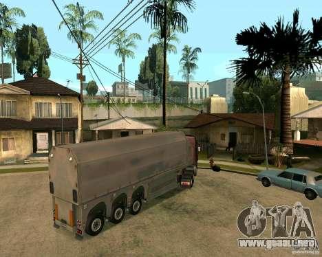 Remolque Steklovoz para GTA San Andreas left