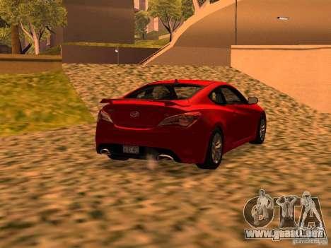 Hyundai Genesis Coupé 3.8 Track v1.0 para GTA San Andreas left