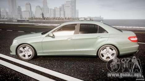 Mercedes-Benz E63 2010 AMG v.1.0 para GTA 4 left