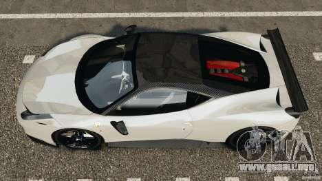 Ferrari 458 Italia 2010 [Key Edition] v1.0 para GTA 4 visión correcta