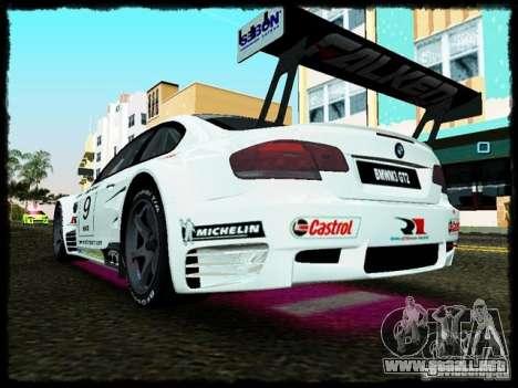 BMW M3 GT2 para GTA Vice City visión correcta