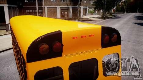 School Bus [Beta] para GTA motor 4