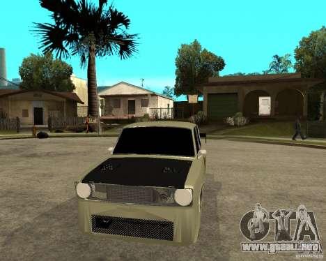 VAZ 2101 D-LUXE para GTA San Andreas vista hacia atrás