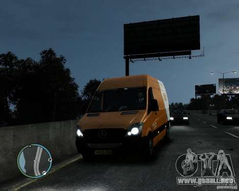 Mercedes-Benz Sprinter TNT para GTA 4