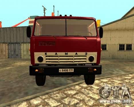 KAMAZ 55111 para visión interna GTA San Andreas