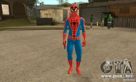 Spider Man From Movie para GTA San Andreas segunda pantalla
