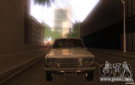 Datsun 510 4doors para visión interna GTA San Andreas