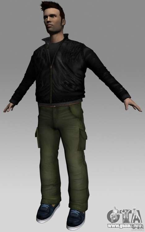 Claude HD from GTA III para GTA Vice City tercera pantalla