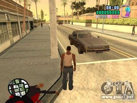 Vice City Hud para GTA San Andreas tercera pantalla