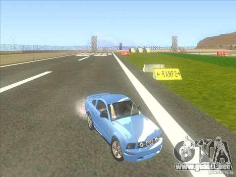Ford Mustang Pony Edition para vista lateral GTA San Andreas