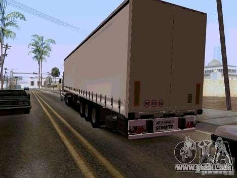Kenworth T2000 v.2 para GTA San Andreas vista hacia atrás
