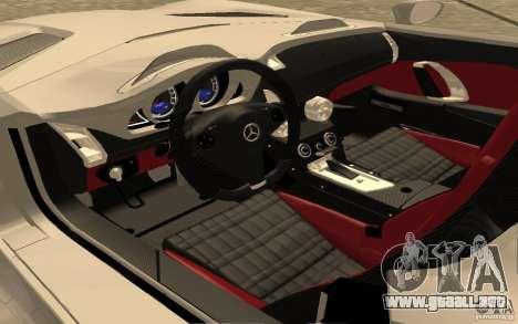 Mercedes-Benz SLR McLaren Stirling Moss para la visión correcta GTA San Andreas