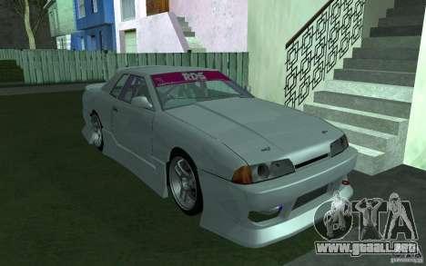 Elegy MS R32 para visión interna GTA San Andreas