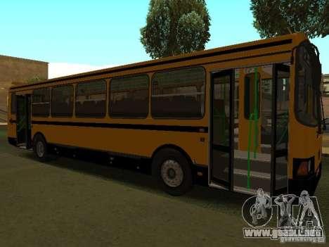 LIAZ 5256.26-01 para la visión correcta GTA San Andreas