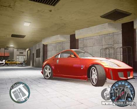 Nissan 350Z Z33 para GTA 4 left