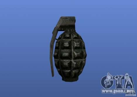 Grenade para GTA 4 tercera pantalla
